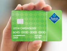 Save <strong>$45</strong> with Sam's Club Credit