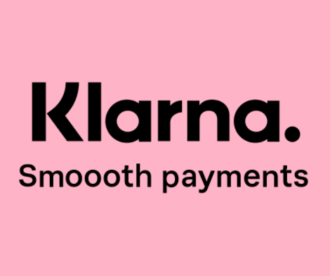 Pay in 4 easy payments with Klarna!