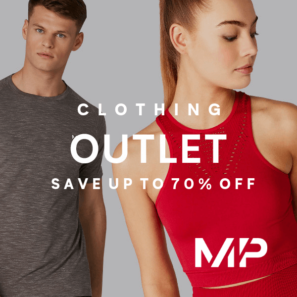 <strong>Up to 70% off</strong> Myprotein Clothing
